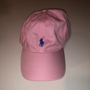 Like new pink Polo hat